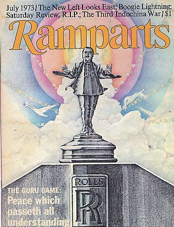 Ramparts Magazine Article - July 1973. Maharaji, Elan Vital, The ...